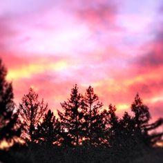 Ukiah, ca sunset