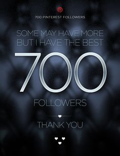 700 connoisseurs. Thank you for dropping by! <3