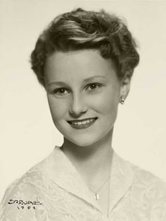 Royal Watcher:  A Young Queen Sonja of Norway