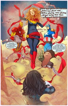 New at The Discriminating Fangirl! You Should Love: Kamala Khan and the new Ms Marvel comic book!