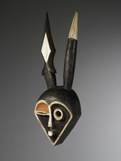 Eastern « Pende » mask from Congo ex: Belgian's collection | Virtual Tribal and Textile Art Shows French Collection, Congo, African Art, Textile Art, Art Gallery, Art Museum, African Artwork