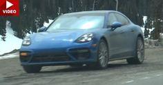 2017 Porsche Panamera Caught Testing In Colorado Almost Undisguised #Porsche #Porsche_Panamera
