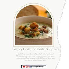 Garlic Soup Recipe, lipton savory herb and garlic soup mix, lipton savory herb and garlic, lipton herb and garlic soup mix, lipton garlic soup mix, lipton garlic and herb, Savory Herb and Garlic Soup mix, Savory Herb, Garlic Soup, Hand Blender, Soup Mixes, Lipton, Coriander, Soup Recipes, Pakistan, Carrots
