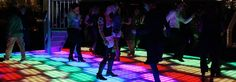 skyfly LED verlichte dansvloer