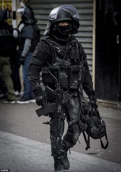The French Ministry today released photos of the raid in Saint Denis on November 18th, which left Adelhamid Abaaoud, the so-called mastermind of the Paris attacks dead. His French born cousin Ait Boulahcen died when a third person detonated a suicide bomb