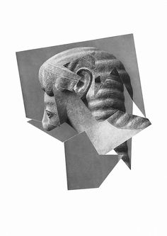 Samuel Solazzo: Hybrid. #Collage #Antike #Schönheit #Ideal #samuelsolazzo #startyourart www.startyourart.de
