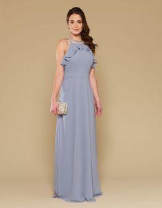 Lorena Maxi Dress   Blue   Monsoon