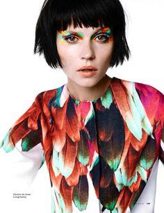 nice Elle Russia June 2014 | Egle Tvirbutaite by Marianna Sanvito  [Editorial]