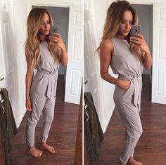 [ $22.50 ] Sleeveless round collar high waist jumpsuits  3437750