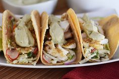 Broiled Tilapia Tacos Recipe on Yummly