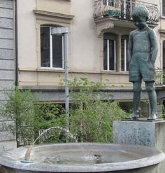 fountains in zurich. there are a lot of them!!