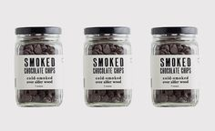 Smoked Chocolate Chips | Cool Material