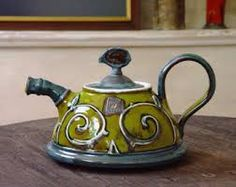 Image result for pottery hand built teapots