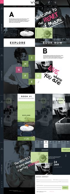 YVE HOTEL on Behance