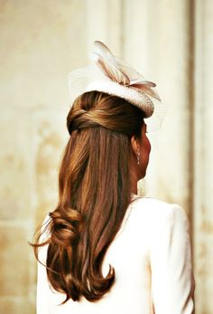 Lovely hair worn by Princess Kate
