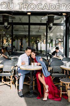 Sensual wedding anniversary in Paris and TOP coffee shops in Paris Eiffel, Paris Photos, Louvre, Wedding Anniversary, Lovers Pics, Parisian Cafe, Paris Shopping, Photoshoot, Coffee Shop