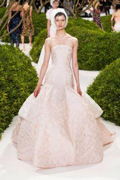 Christian Dior Spring 2013 Couture #bridal #weddingdress
