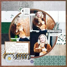 Collect and Corral Creativity With This Farmhouse Chic Scrapbook Layout – Creative Memories Blog