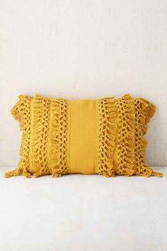 Leather Sleeper Sofa Venice Net Tassel Bolster Pillow Yellow ThrowsYellow