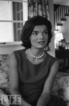 """Jackie O. So beautiful. """"The future belongs to those who believe in the beauty of their dreams"""""""