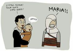 Malik and Altair with little Altair's son!