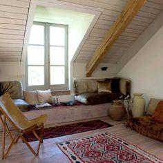 Dormer window--beam for added support? Interesting look