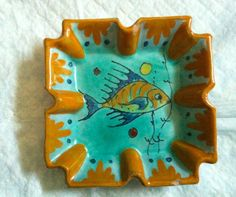 Wonderful vintage Art Pottery... and very Summer-y, too!