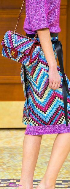 #PFW Chanel Fall 2015 RTW detail ♔THD♔
