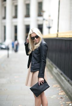 LEATHER & BEIGE : P.S. I love fashion by Linda Juhola
