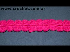 Puntilla N° 58 en tejido crochet tutorial paso a paso. - YouTube