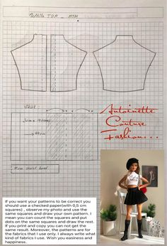 Fashion Dolls Couture - Unlimited: Red Puffer Jacket - Made to Move Barbie - Sewing Barbie Clothes, Barbie Sewing Patterns, Doll Dress Patterns, Doily Patterns, Barbie Dolls Diy, Pattern Sewing, Pants Pattern, Ag Dolls, Blouse Patterns