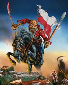 Iron Maiden announce Arena gig to close 2013 European tour by Daniel O'Connell Bruce Dickinson, Woodstock, Iron Maiden Seventh Son, Rock Bands, Arte Pink Floyd, Europa Tour, Iron Maiden Posters, Iron Maiden Band, Where Eagles Dare