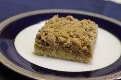 Vegan New York Crumb Cake: Dairy-free, egg-free, nut-free