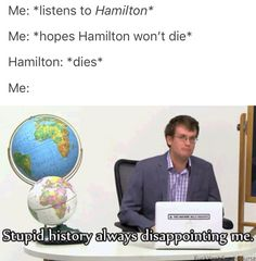 Stupid history... WHY DO I CRY OVER THESE FOUNDING FATHERS?!?!!! Thanks, Lin. XD #Hamilton #Broadway #Musical