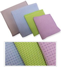 Dish Washing Combo Pack: A Four Pack of Microfiber Cloths to Make Dish Washing Easy.