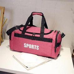 Gym Bags Sports & Entertainment Gentle Free Shipping Waterproof Men Sports Gym Bags New Leisure Yoga Fitness Bag Women Travel Handbag Training Bag