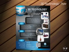 3D Technology Flyer by sadzip