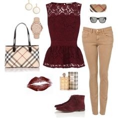 Burberry outfit!