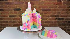 Magical Unicorn Cake Tutorial