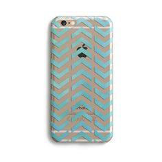 Clear Chevron - Phone Case