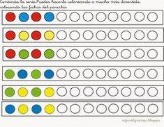 Pattern recognize color preschool- Muster erkennen Farben-  Vorschule  Pattern recognize color preschool   -#preschoollessonplans #preschoolsensory #preschoolthanksgiving #preschoolweather #teachingpreschool Creative Activities For Kids, Preschool Learning Activities, Preschool Curriculum, Math For Kids, Preschool Worksheets, Kindergarten Math, Preschool Activities, Kids Learning, Pattern Worksheet