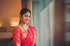 A Kongu Wedding With Decorations, Trousseau And Almost Everything Flavoursome Telugu Wedding, Saree Wedding, Wedding Dresses, South Indian Weddings, South Indian Bride, South Indian Makeup, Tulsi Silks, Best Wedding Makeup, Indian Wedding Hairstyles