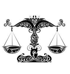 Zodiac+signs+of+libra+vector+293230+-+by+galina on VectorStock®