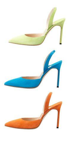 Trittsicher! Perfekt für den Frühlings - Farbtyp! Lindgrün , Lapisblau und Orange!  Kerstin Tomancok Farb-, Typ-, Stil & Imageberatung