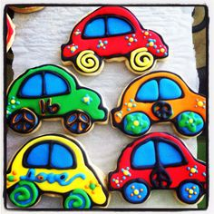 VW Bug Cookies!