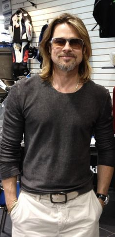 Brad Pitt.. born in Shawnee, Oklahoma. That may be one of the reasons why he seems like such a regular/normal guy.