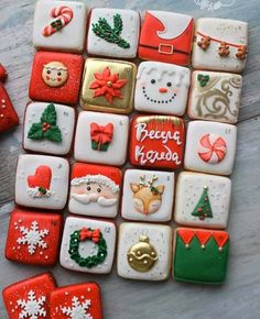 Simple Christmas cookie recipes Easy to Copy - DIY Ideas of Simple Christmas Cookies, Christmas Decoritions, Christmas Crafts,Christmas gifts, - Cute Christmas Cookies, Easy Christmas Cookie Recipes, Christmas Crafts For Gifts, Iced Cookies, Christmas Sweets, Easy Cookie Recipes, Cookies Et Biscuits, Holiday Cookies, Simple Christmas
