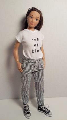 Tshirt and Pants for Lammily Doll