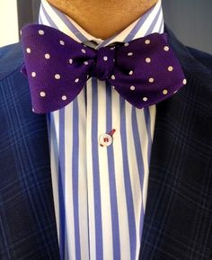 todaystie: whoever has the bow tie gets to lead the band.