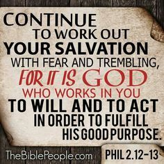 Image result for picture phil 2:12-13 Bible